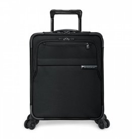 BRIGGS & RILEY INTERNATIONAL CARRYON EXPANDABLE WIDE BODY UPRIGHT BLACK