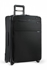 BRIGGS & RILEY U125CX-4 BLACK MEDIUM EXPANDABLE UPRIGHT