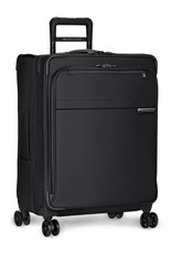 BRIGGS & RILEY U125CXSP-4 BLACK MEDIUM EXPANDABLE SPINNER