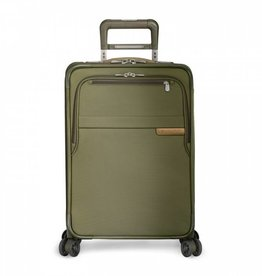 BRIGGS & RILEY OLIVE DOMESTIC U.S. CARRYON EXPANDABLE SPINNER