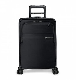 BRIGGS & RILEY BLACK DOMESTIC U.S. CARRYON SPINNER