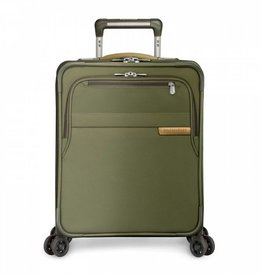 BRIGGS & RILEY OLIVE CARRYON COMMUTER EXPANDABLE SPINNER