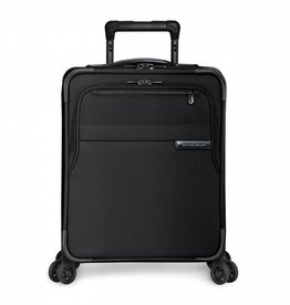 BRIGGS & RILEY BLACK COMMUTER EXPANDABLE SPINNER