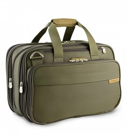 BRIGGS & RILEY OLIVE EXP CABIN BAG