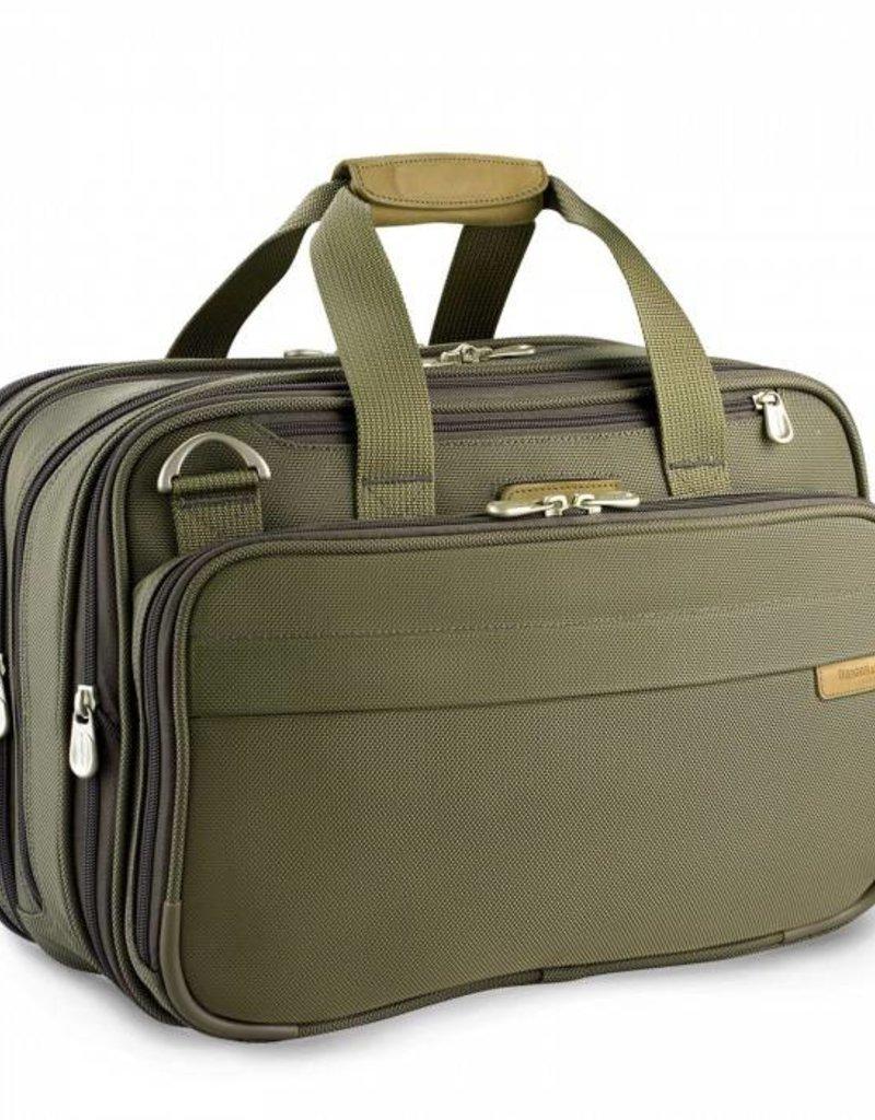 e994a3c0f63c5 BRIGGS   RILEY 231X-7 OLIVE EXP CABIN BAG - Capital City Luggage