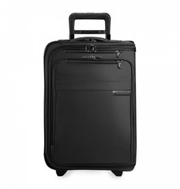 BRIGGS & RILEY BLACK DOMESTIC U.S. CARRYON UPRIGHT GARMENT BAG