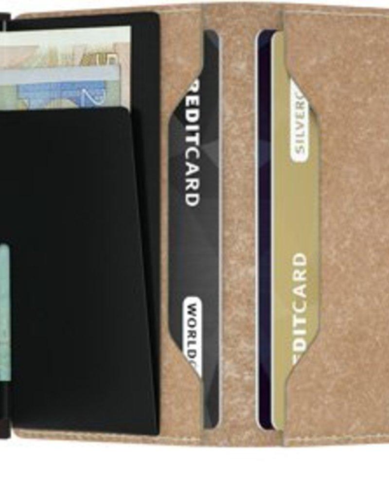 SECRID MINIWALLET RFID VINTAGE CHOCOLATE