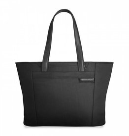 BRIGGS & RILEY BLACK LARGE SHOPPING TOTE