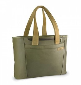 BRIGGS & RILEY OLIVE LARGE SHOPPING TOTE