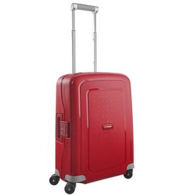 "SAMSONITE SAMSONITE S'CURE 20"" SPINNER RED"