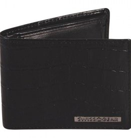 SWISS GEAR BROWN MENS WALLET RFID