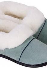 GARNEAU 550W OXIDE GREEN XL10.5/11 SHEEPSKIN SLIPPER