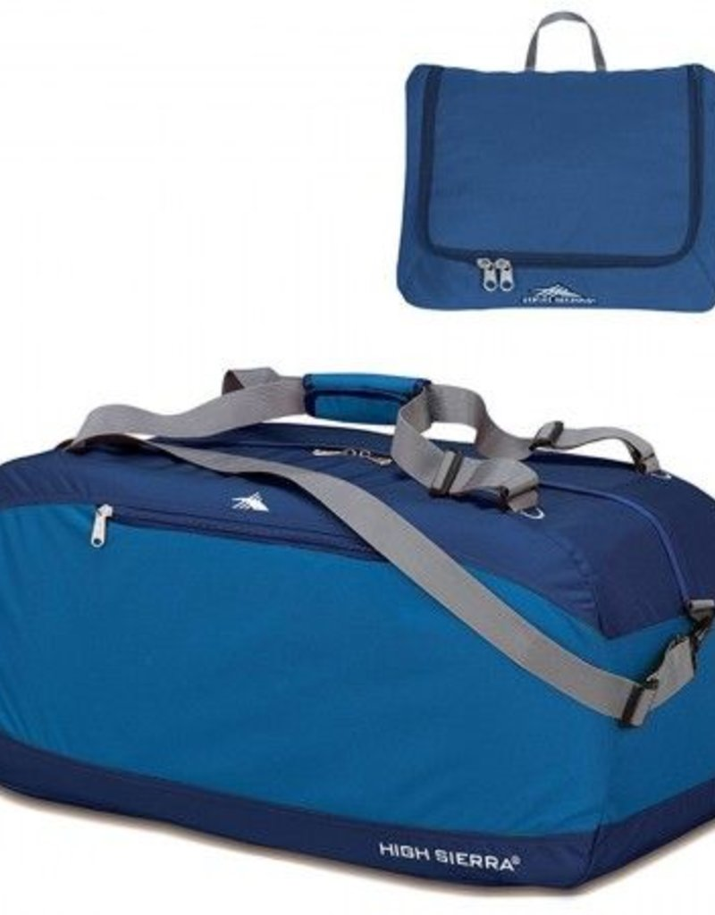 HIGH SIERRA 536073321 BLUE 20 PACKNGO DUFFLE BAG