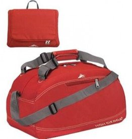 HIGH SIERRA RED 20 PACKNGO DUFFLE BAG