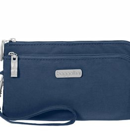 BAGGALLINI DOUBLE ZIP WRISTLET PACIFIC