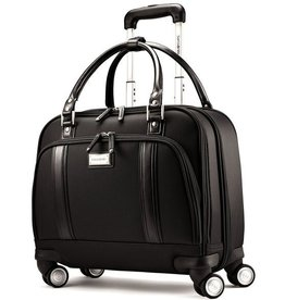 SAMSONITE LADIES SPINNER MOBILE OFFICE BLACK