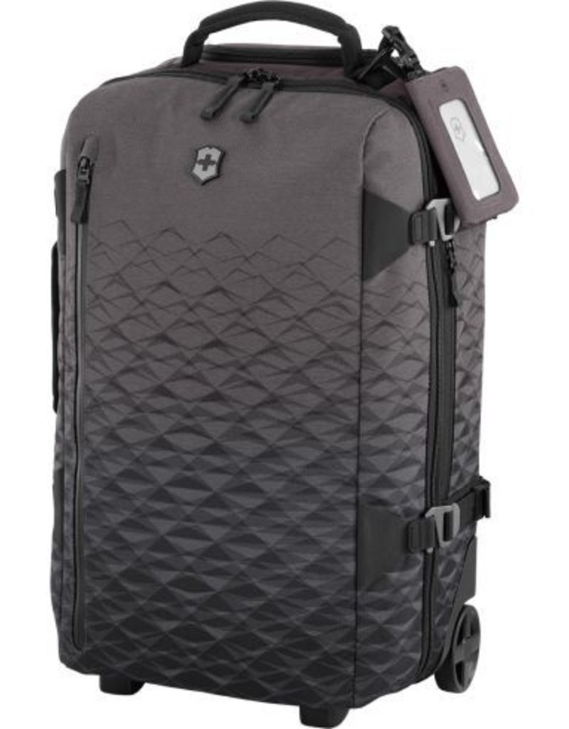 SWISS ARMY 601476 ANTHRACITE VX TOURING CABIN BAG - Capital City Luggage 852861ce5d958