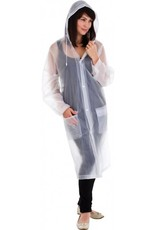CLEAR IMAGE CLEAR PACKABLE RAINCOAT 820