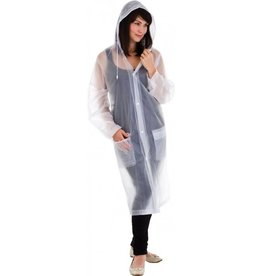 CLEAR IMAGE CLEAR PACKABLE RAINCOAT
