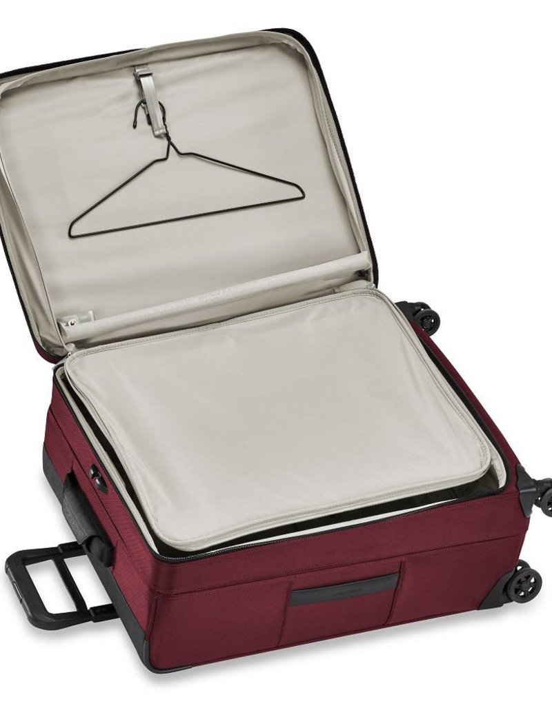 BRIGGS & RILEY TU426VXSP-46 MERLOT MEDIUM EXPANDABLE SPINNER
