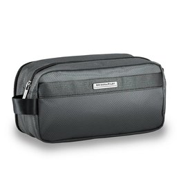 BRIGGS & RILEY SLATE TOILETRY KIT