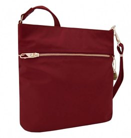 TRAVELON Tailored N/S Slim Bag GARNET