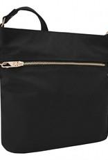 TRAVELON 43201 ONYX ANTI-THEFT TAILORED N/S SLIM BAG (RFID BLOCKING)