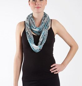 SHARANEL INFINITY SCARF DRAGON NATURAL