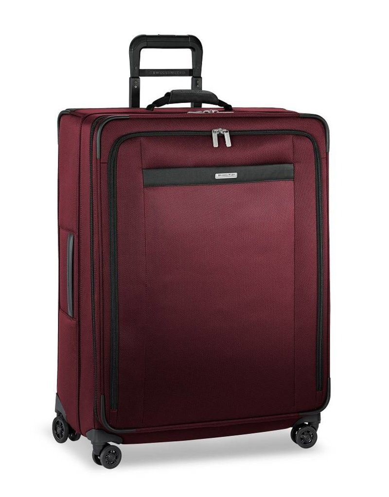 BRIGGS & RILEY TU429VXSP-46 MERLOT LARGE EXPANDABLE SPINNER