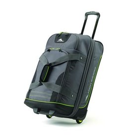 HIGH SIERRA WHEELED DUFFLE BREAK-OUT MERC 26.5