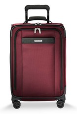 BRIGGS & RILEY TU422VXSP- 46 MERLOT TALL CARRYON U.S. EXP SPINNER
