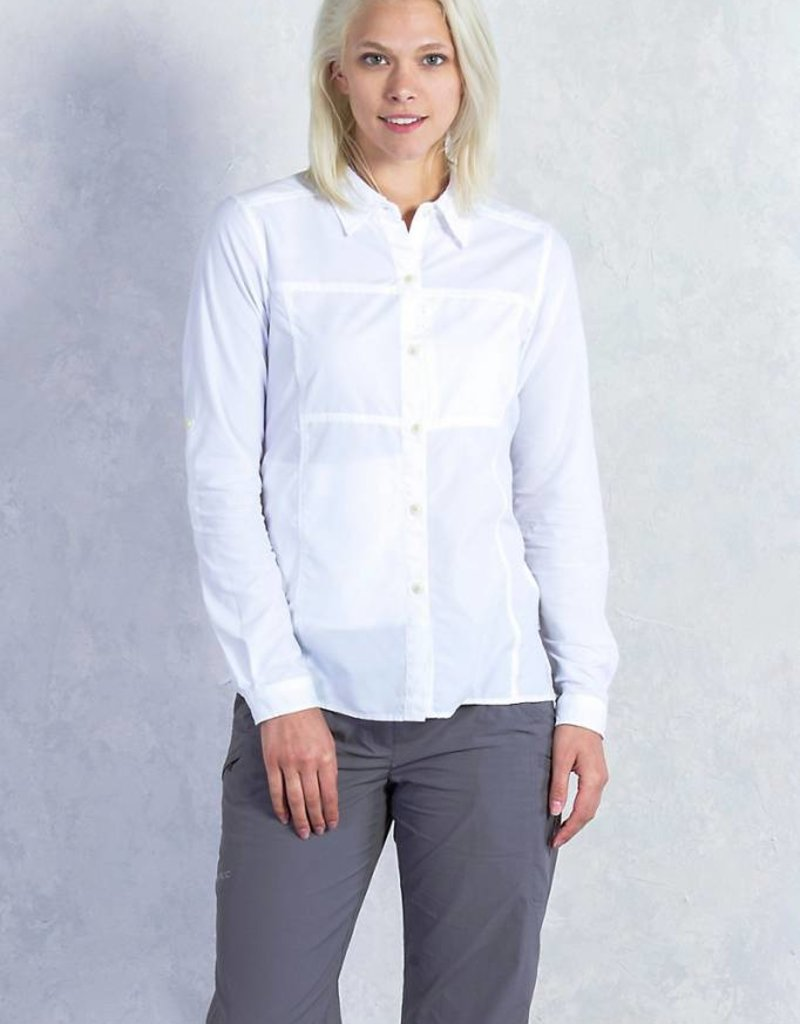 EXOFFICIO 20012560 LARGE WHITE SHIRT
