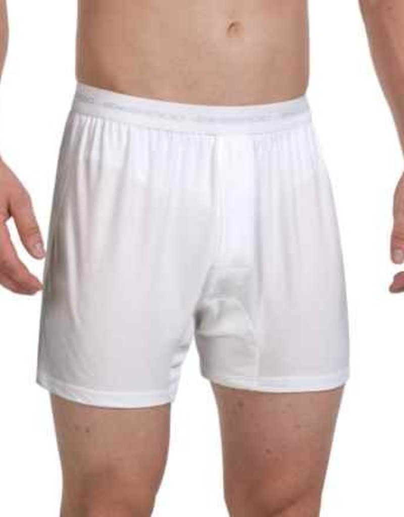 EXOFFICIO 12412171 MEDIUM WHITE Give-N-Go Mens Boxer