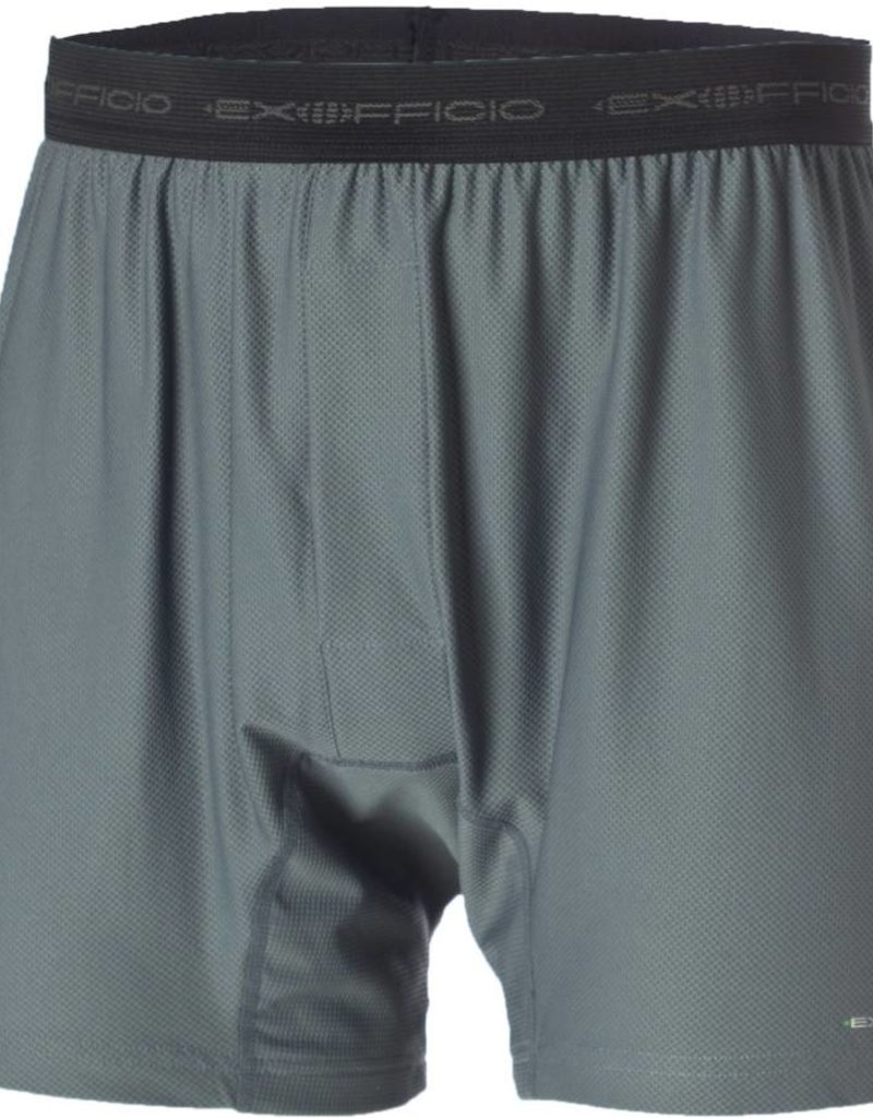 EXOFFICIO 12412171 EXTRA LARGE CHARCOAL Give-N-Go Mens Boxer