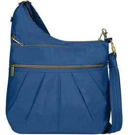 TRAVELON 3 Compartment Crossbody COBALT