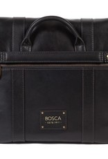 BOSCA TACCONI MESSENGER BLACK 843224