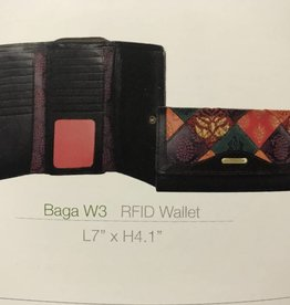 Hidesign RFID BROWN LADIES WALLET