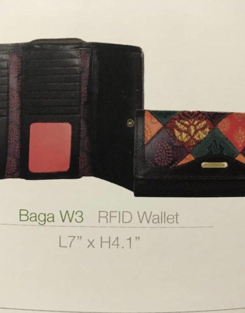Hidesign BAGAW3-RFID-BR