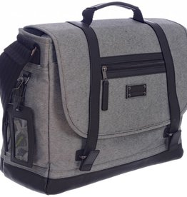 TRAVELWAY MESSENGER BAG GREY