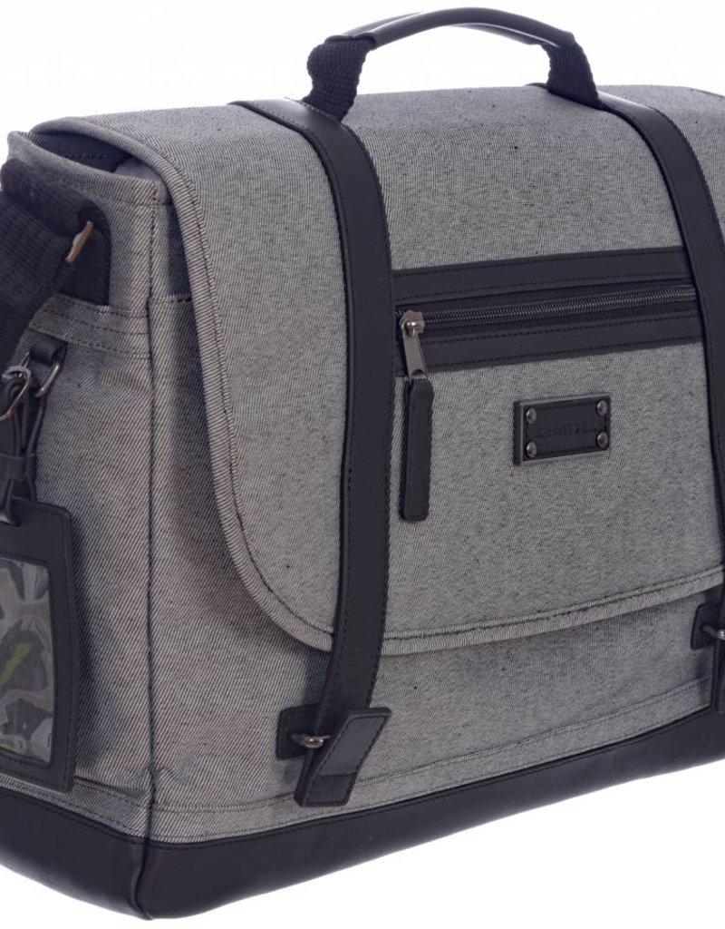 TRAVELWAY E0500 MESSENGER BAG GREY