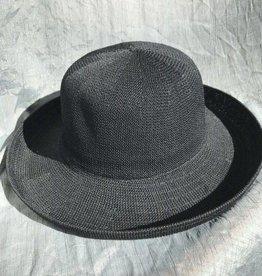 PARKHURST 17200  BLACK BISCAYNE BOWLER HAT