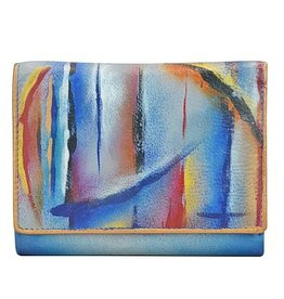 ANUSCHKA 1138 NSK THREE FOLD CLUTCH WALLET