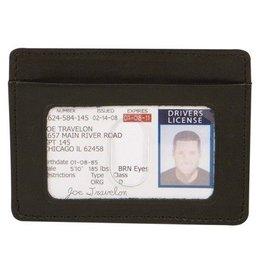 TRAVELON RFID BLOCKING CARD & SLEEVE 72488 TRAVELON
