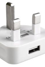 UK Plug USB Adapter