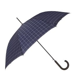 FULTON SHOREDITCH WINDOW PANE CHECK UMBRELLA