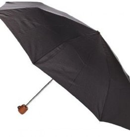 FULTON STOWAWAY BLACK UMBRELLA