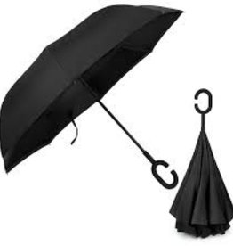 KNIRPS BLACK UMBRELLA