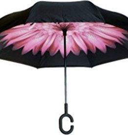KNIRPS PINK FLOWER UMBRELLA