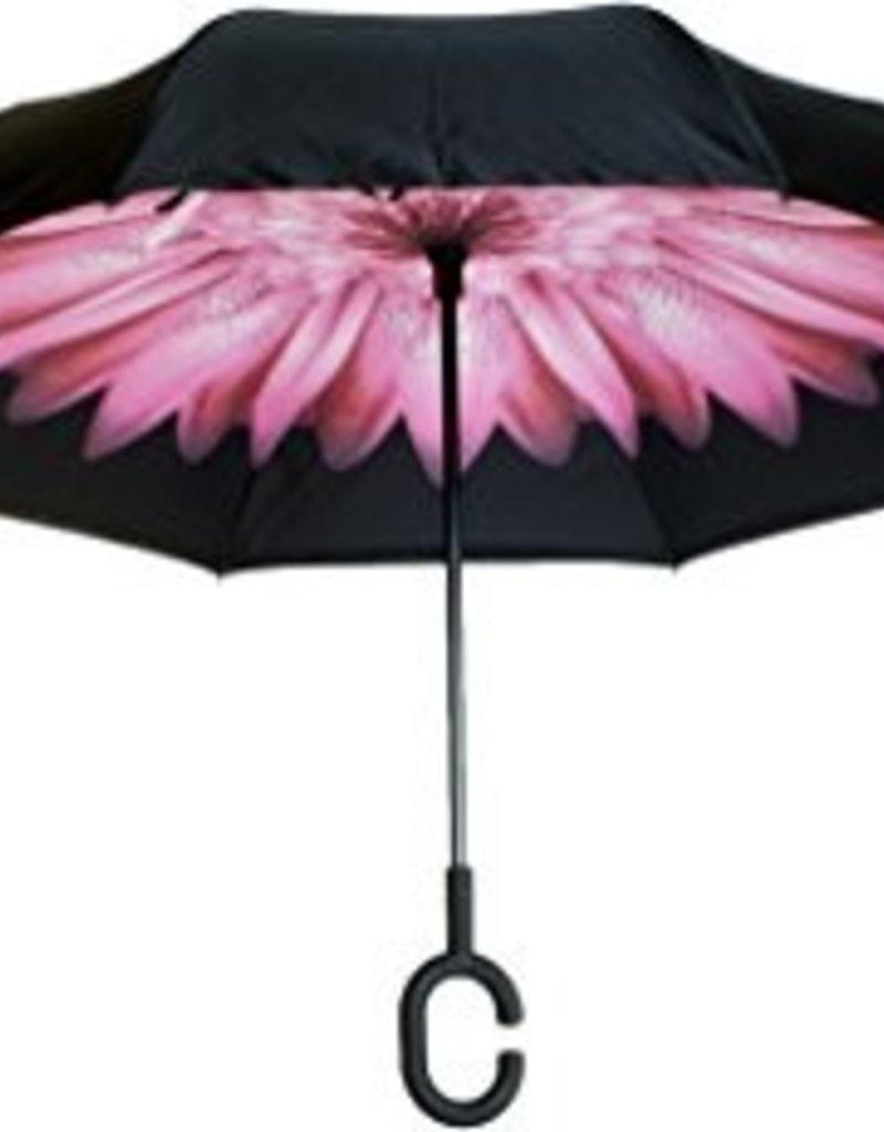 KNIRPS OKBR 1000 805 PINK FLOWER UMBRELLA