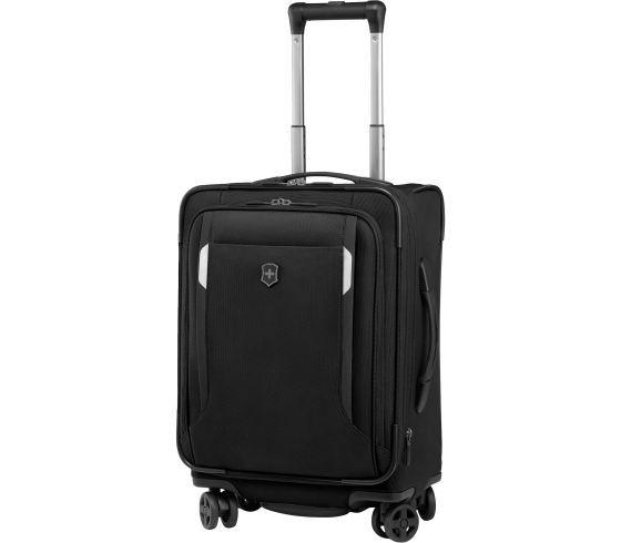 9f1d04dac SWISS ARMY 32301901 BLACK SWISS WERKS 5 CARRYON SPINNER - Capital City  Luggage